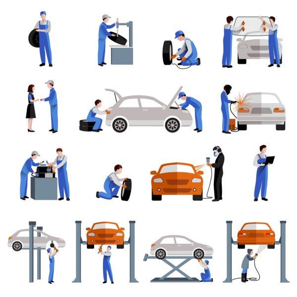 Otomotiv Servis Ekipmanları